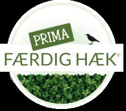 Prima Færdig Hæk logo